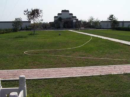 卧龙公墓绿化