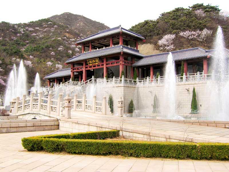 华人怀思堂风景