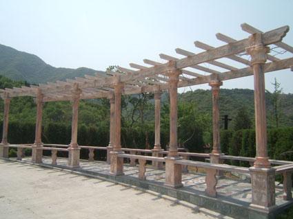 天山陵园园区景观