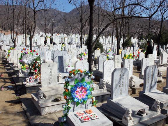 华夏陵园墓区