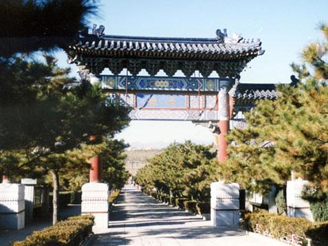 八宝山人民公墓景色
