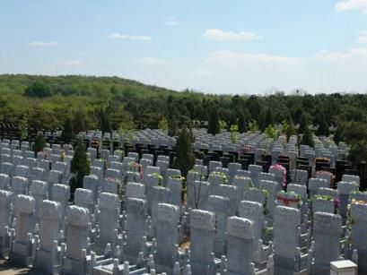 八宝山人民公墓墓区