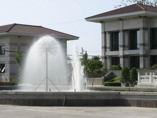 潮白陵园喷泉