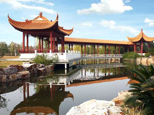 福寿园海港陵园绿化_陵园环境