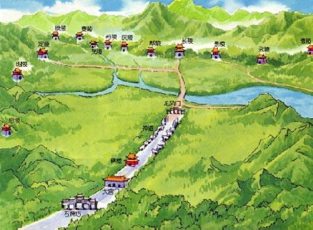 十三陵<a href='http://www.gongmutang.com/column/fengshui.html' >风水</a>图片欣赏