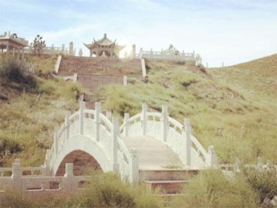 三祖人文纪念园环境