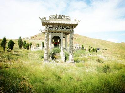 三祖人文纪念园艺术墓