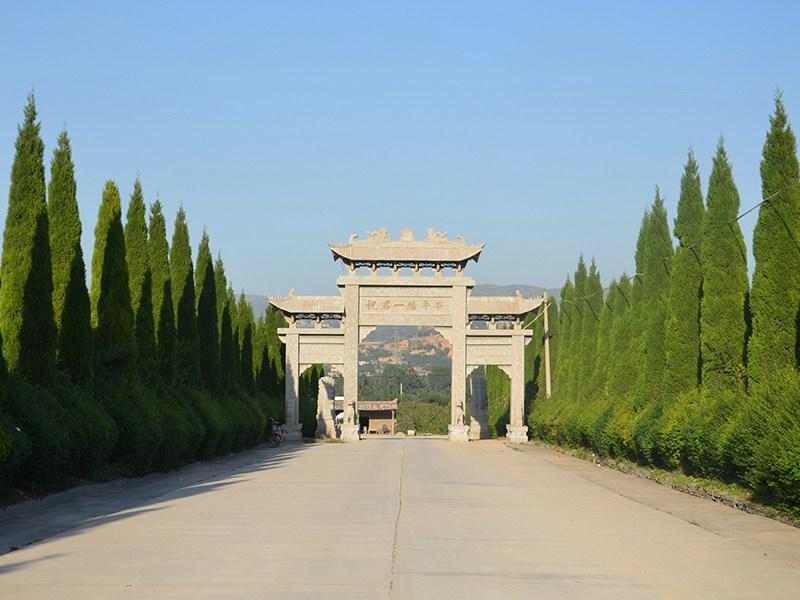 汉陵墓园大门