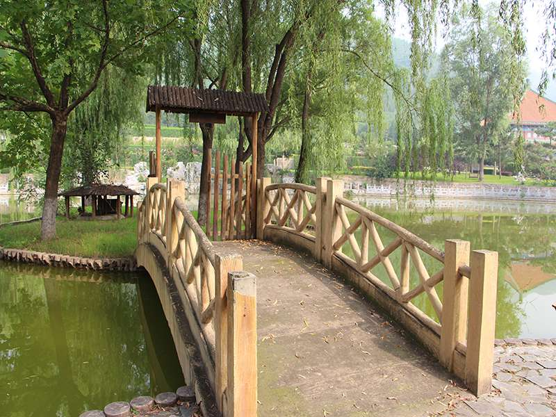 天寿陵园环境