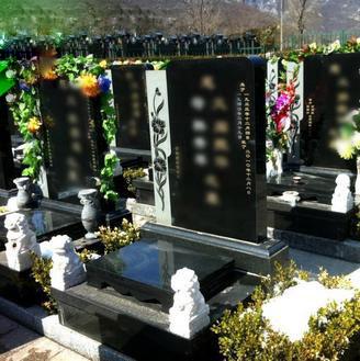 立式碑常规墓