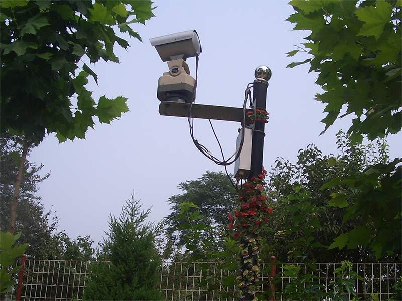 万桐园公墓景观智能监控