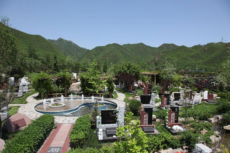 凤凰山陵园墓区