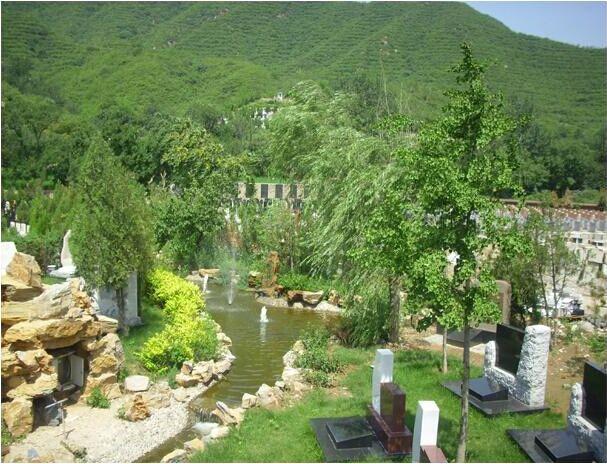 凤凰山陵园水系