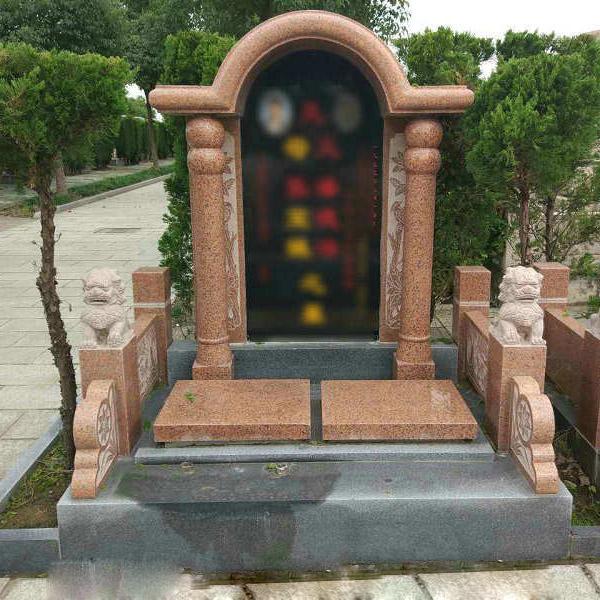 梅六区立碑