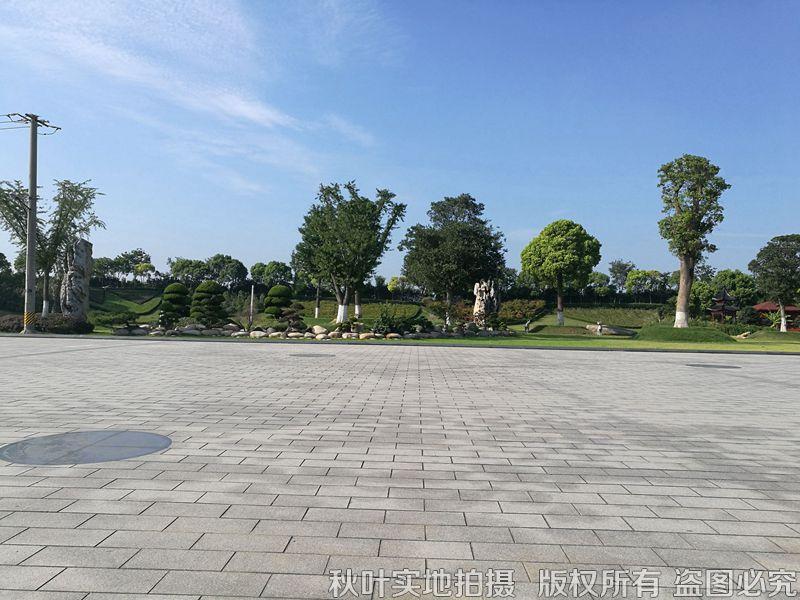 华亭息园园区景观