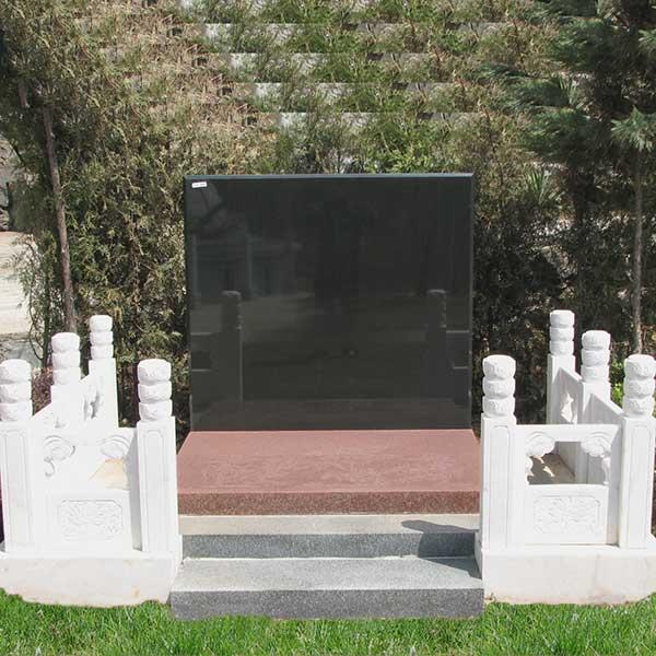 汉白玉围栏碑艺术墓